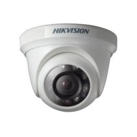 Camera dome Turbo HD / Analogica Hikvision DS-2CE56C0T-IRPF 1MP, IR 20m, 2.8mm, IP66