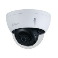 Camera mini dome IP Starlight Dahua IPC-HDBW2431E-S-0280B-S2, 4MP, lentila 2.8mm, H.265+, IR 30 m, Starlight, slot card 256GB, PoE, IVS